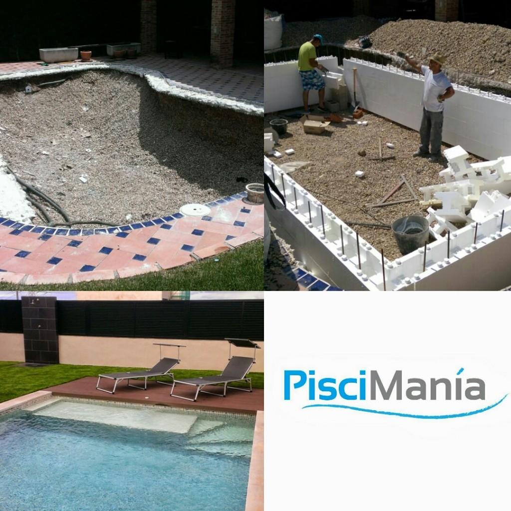 Construcci n de piscinas pisciman a for Recambios piscinas desmontables