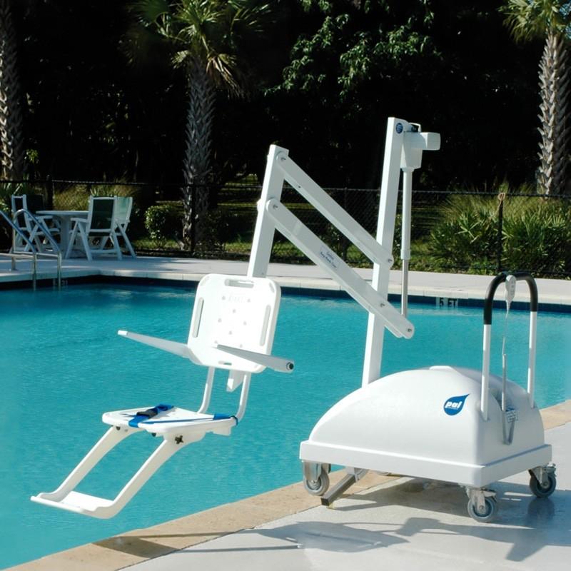 Elevador port til para acceso piscina discapacitados for Recambios piscinas desmontables