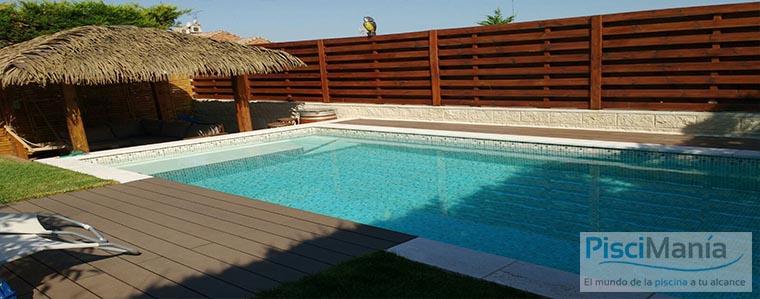 Nueva gama de l mina armada para piscinas pisciman a for Juntas piscina