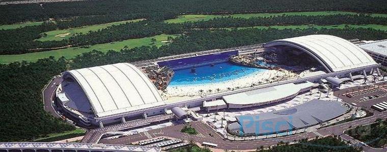 Sh gaia shan d mu la piscina cubierta m s grande del for Piscinas del mundo